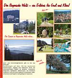 Prospekt Haus Bayerwald in der Dreiländerregion